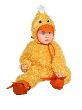 Infant's Duck Chick Costume