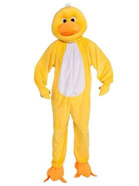 Duck Mascot Adult Costume