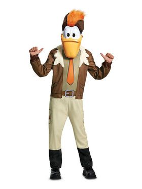 Child's Ducktales Launchpad Costume