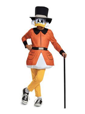 Child's Ducktales Scrooge Mcduck Costume