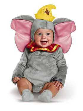 Infant's Dumbo Deluxe Costume