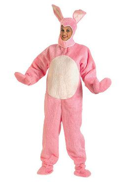 Easter Bunny Suit Pink Costume
