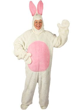Easter Bunny Suit White Costume