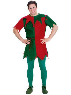 Economy Elf Tunic for Adults