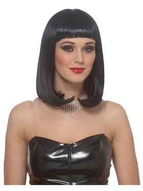 Economy Peggy Sue Wig - Black Adult