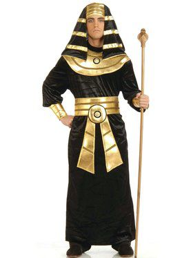 Egyptian Black and Gold Pharaoh Costume