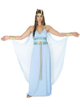 Egyptian Goddess Adult Costume for Halloween
