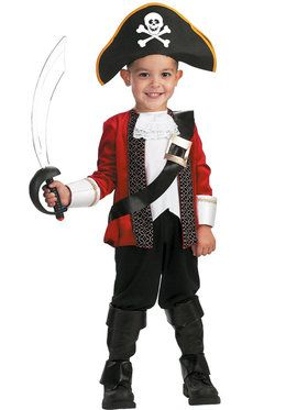 El Capitan Costume For Toddlers