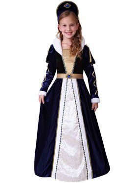 Elegant Princess Deluxe Girl's Costume