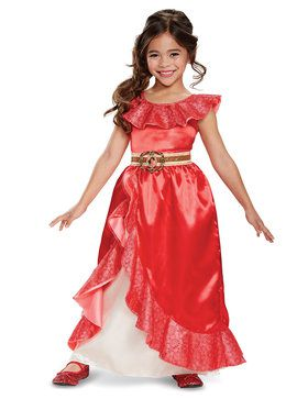 Elena of Avalor - Elena Deluxe Adventure Gown Child Costume