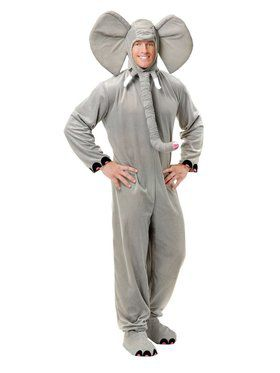 Adult's Elephant Costume