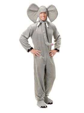 Elephant Costume Men's Costume