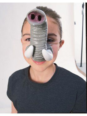 Elephant Costume Nose with Tusks Accessory