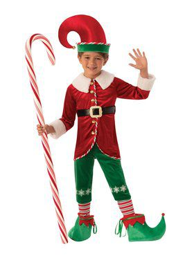 Elf Boy Child Costume