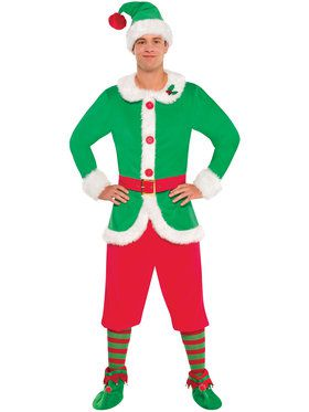 Elf Guy Costume for Men