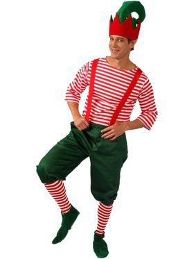 Elf Men's Costume