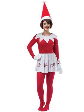 Elf on the Shelf Women's Costume