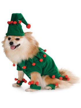 Dog Elf Costume