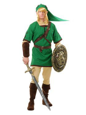 Adult's Elf Warrior Costume