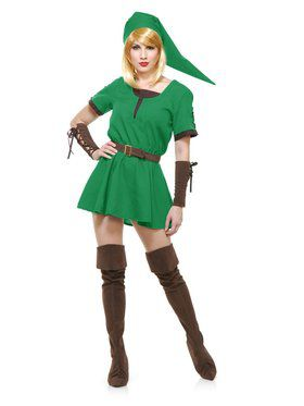 Elf Warrior Princess Costume Women's Costume