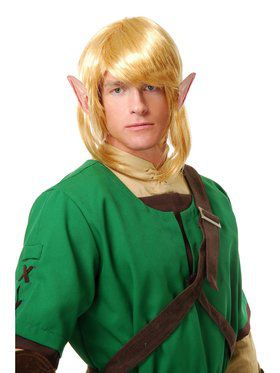 Adult's Elf Warrior Wig