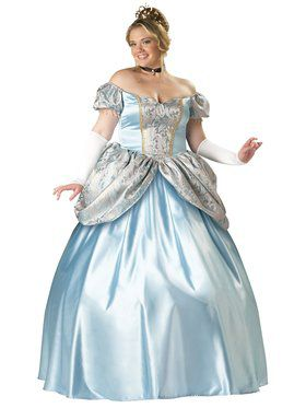 Elite Enchanting Princess Adult Plus Costume