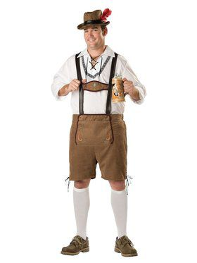 Elite Mens Plus Oktoberfest Guy Costume