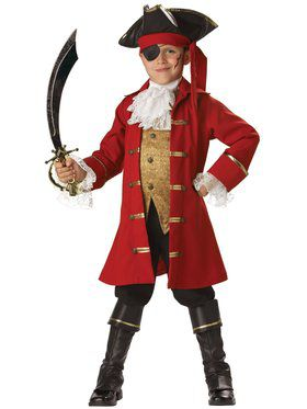 Elite Pirate Captain Child Costume