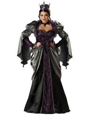 Elite Plus Wicked Queen Womens Costume