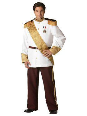 Elite Prince Charming Plus Adult Costume
