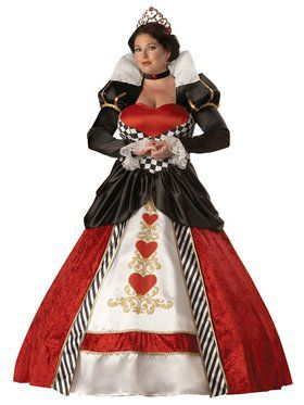 Elite Queen of Hearts Adult Plus Costume