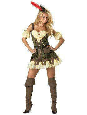 Elite Racy Robin Hood Adult Costume