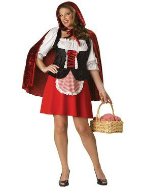 Elite Red Riding Hood Adult Plus Costume