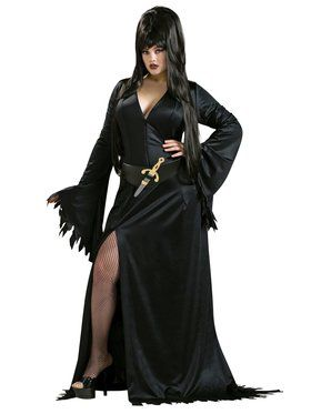 Elvira Plus Costume