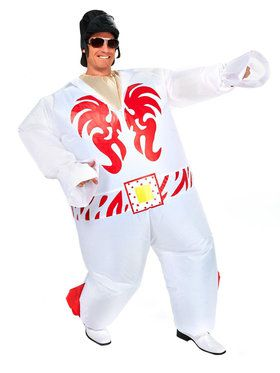 Elvis Inflatable Costume For Adults