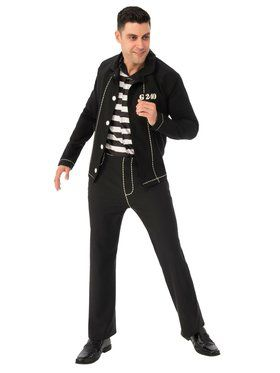 Elvis Jailhouse Rock Costume for Adults