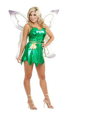 Women's Emerald Fairy Costume