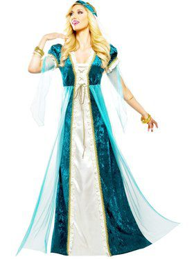 Emerald Juliet Women's Costume