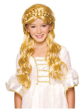 Enchanted Blonde Wig Child