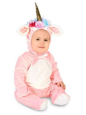Baby Enchanted Pink Unicorn Costume For Babies