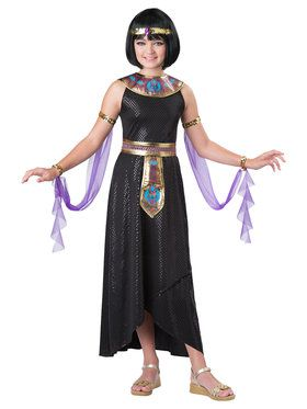 Enchanting Cleopatra Girl's Costume