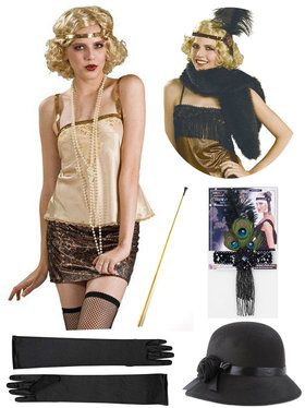 English Mob Lady Costume Kit