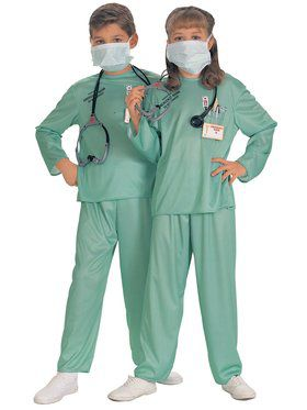 Er Doctor Kids Costume