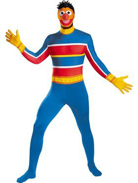 Ernie Bodysuit Costume Adult