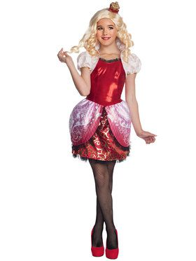 Ever After High Apple White Girl's Costume