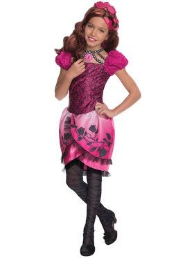 Ever After High Deluxe Briar Beauty Girl's Costume