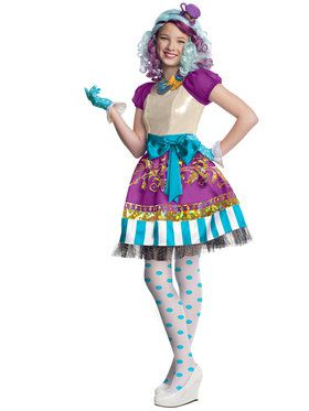 Ever After High Madeline Hatter Girl's Costume