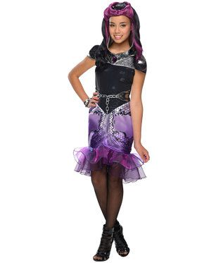 Ever After High Raven Queen Girl's Costume