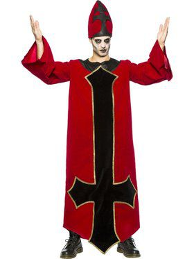 Adult Evil Bishop Costume