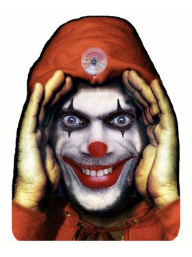 Evil Clown Cling Prop